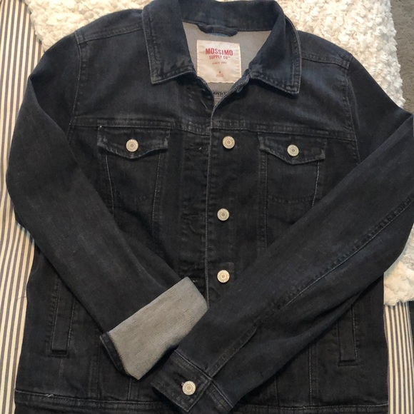 Mossimo Supply Co. Jackets & Blazers - Mossimo Black Denim Jacket